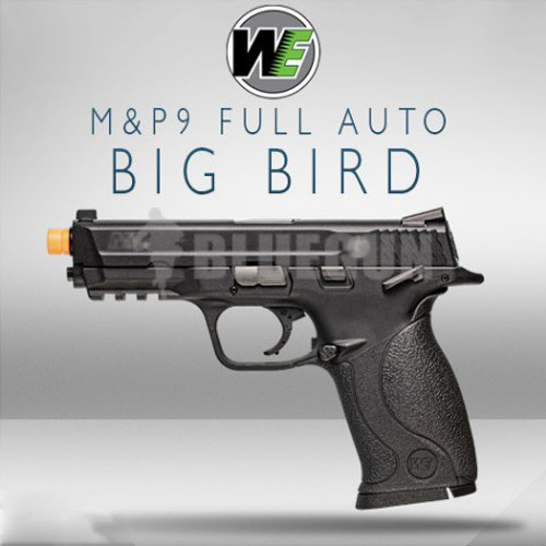 [WE] M&P  Big Bird / Semi & Full Auto : M&P 빅버드 가스핸드건