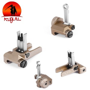 [KUBLAI] KAC Flip Up Sights Set / DE