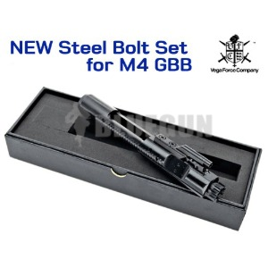 [VFC] NEW Steel Bolt Set for M4 / MK18 / MK12..GBB [ 강철 캐리어,볼트캐리어]