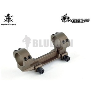 VFC CNC Knight Type One piece Dual Ring Scope Mount (Tan)