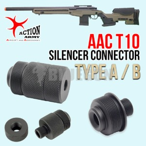 AAC T10 Silencer Connector / 2 Type